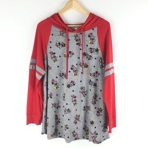 NEW Disney size 2X Minnie Mouse Printed Hoodies